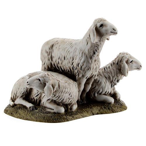 Nativity scene figurine, set of 3 sheep 11cm by Landi 3