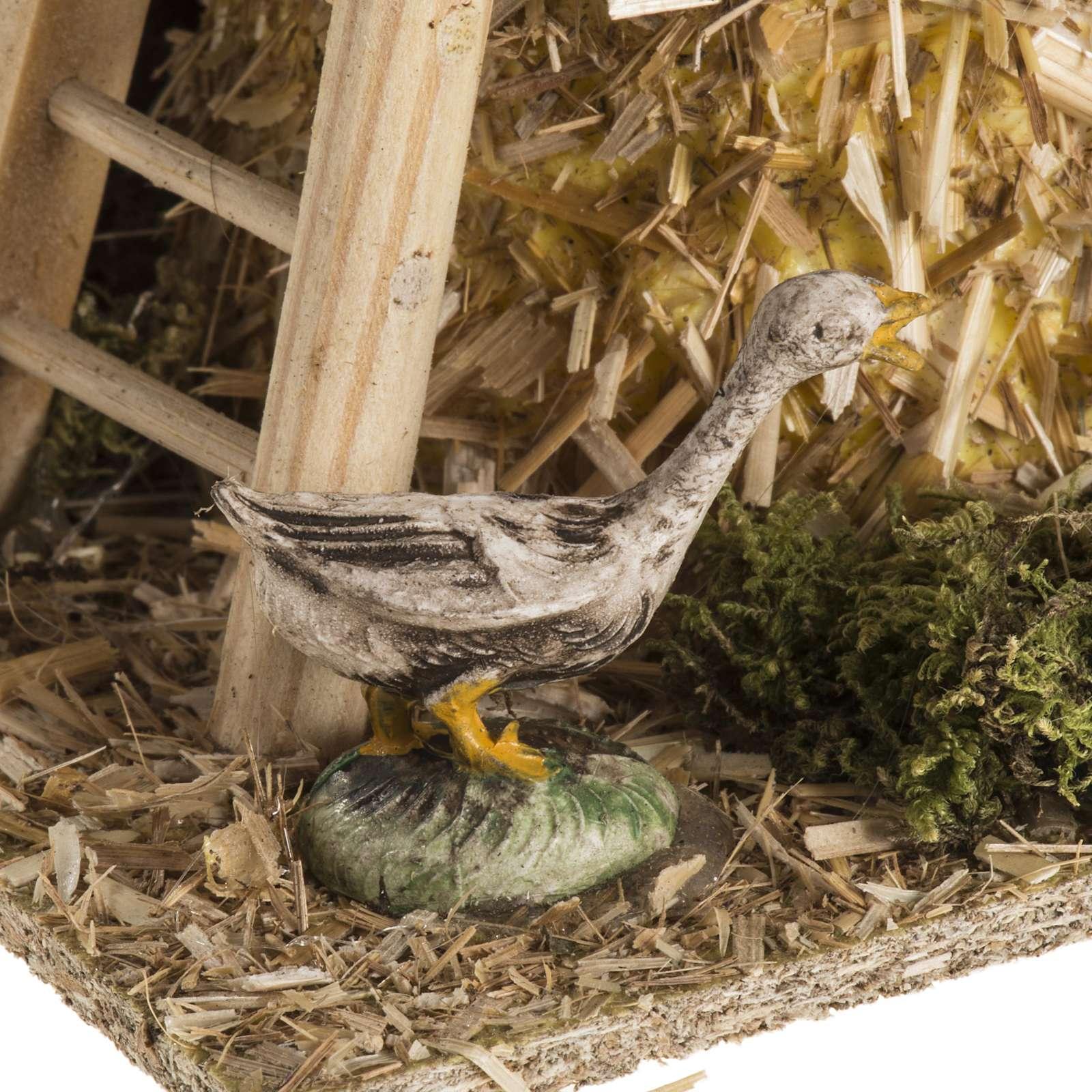 Gavilla de heno ambientación para el pesebre 4