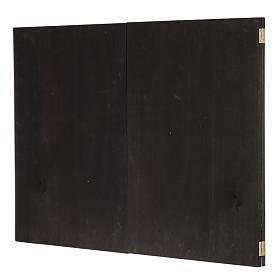 Trittico legno: sfondo presepe paesaggio 200x70 s6