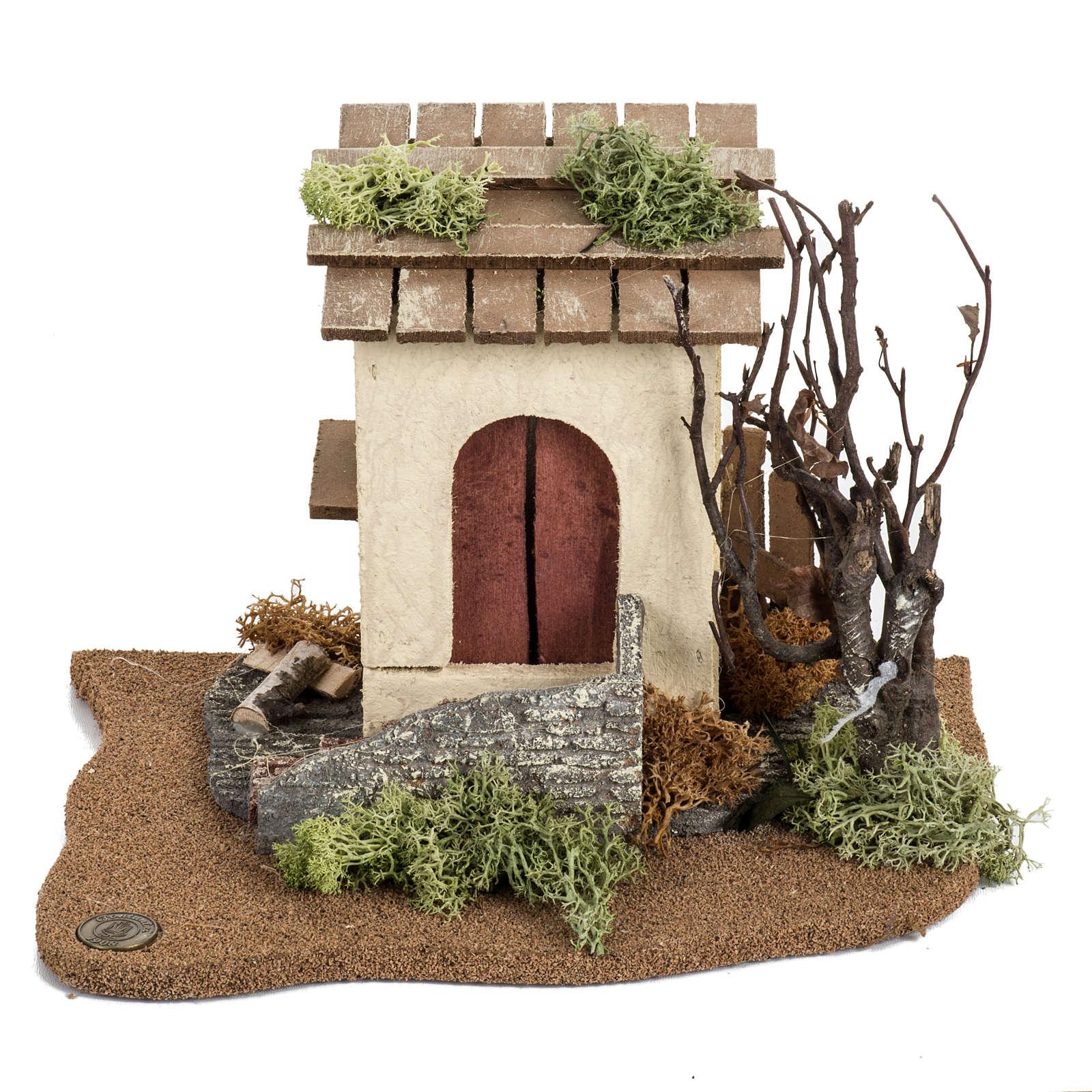 Henhouse, Fontanini nativities 12cm 3