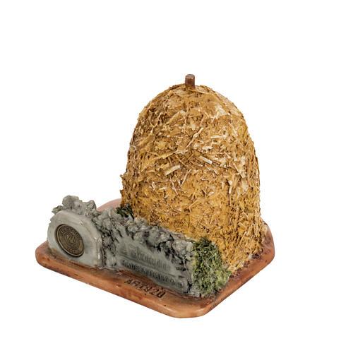 Botte de paille crèche de Noel Fontanini 6,5 cm 2