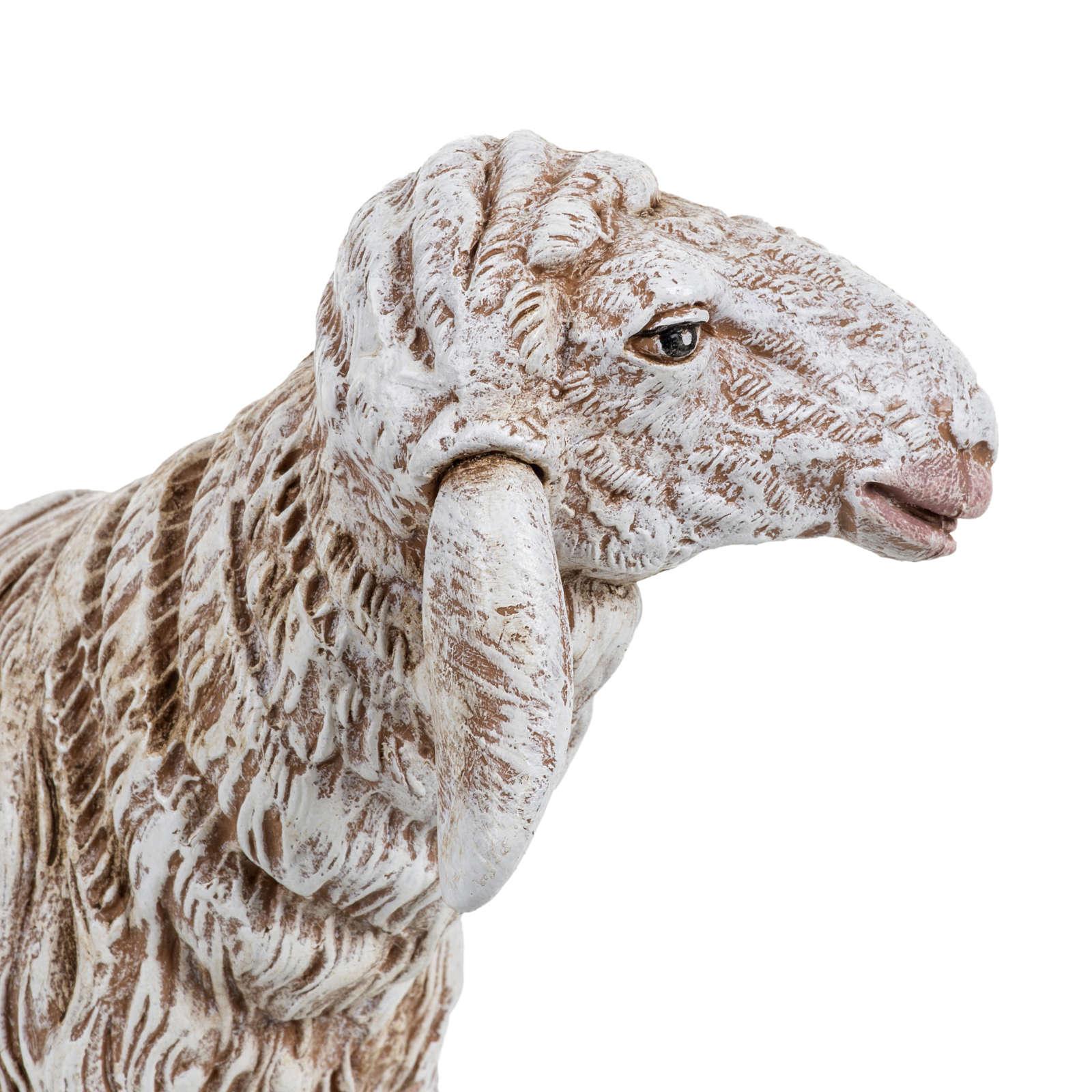Owca stojąca szopka Fontanini 45 cm 3