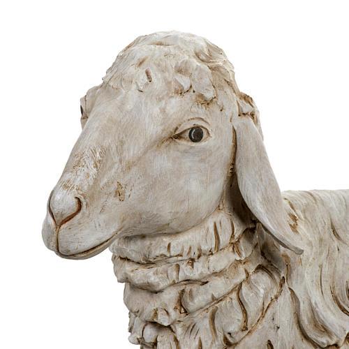 Pecora seduta 180 cm presepe Fontanini 2