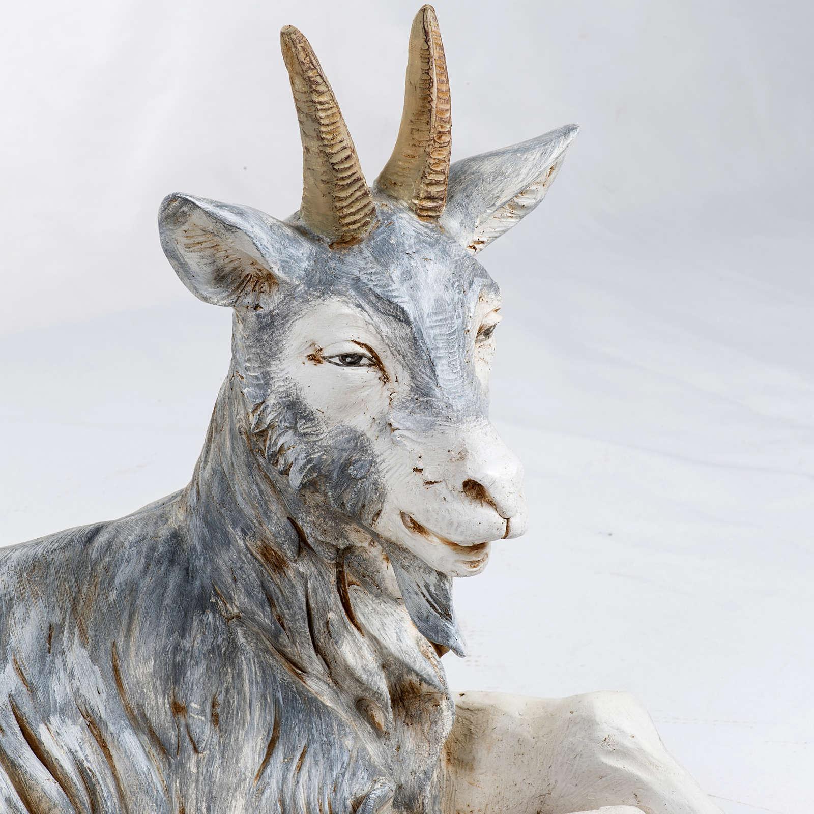Cabra tumbada 125 cm. pesebre Fontanini 4