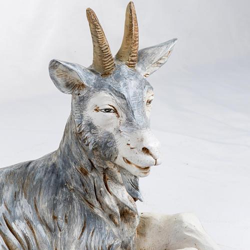 Cabra tumbada 125 cm. pesebre Fontanini 2