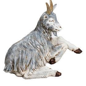 Capra seduta 125 cm presepe Fontanini s4