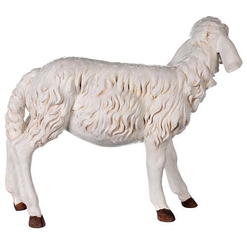 Pecora in piedi 125 cm resina Fontanini 8