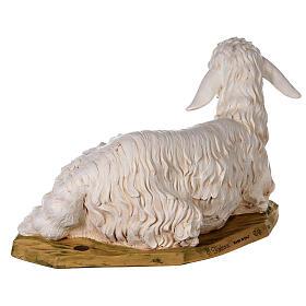Pecora seduta 125 cm resina Fontanini s7