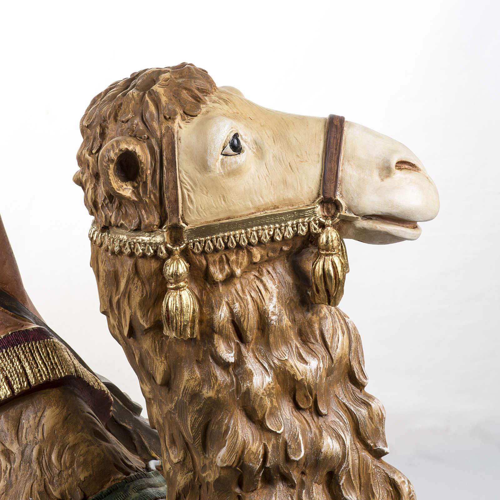 Cammello seduto 125 cm presepe Fontanini 3