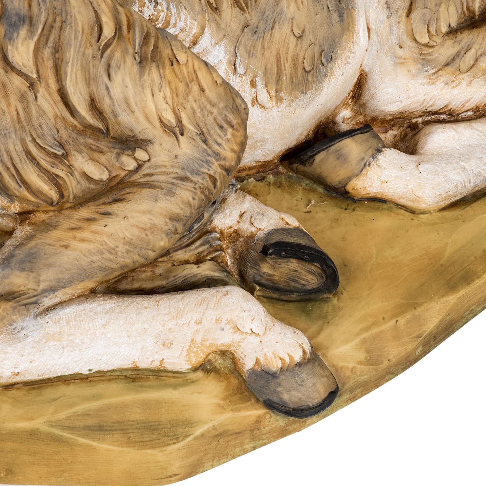 Mula pesebre Fontanini 65 - 85 cm resina 3
