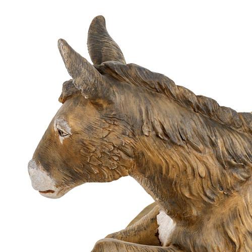 Mula pesebre Fontanini 65 - 85 cm resina 5