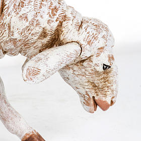 Owca stojąca Fontanini 65 cm żywica s3