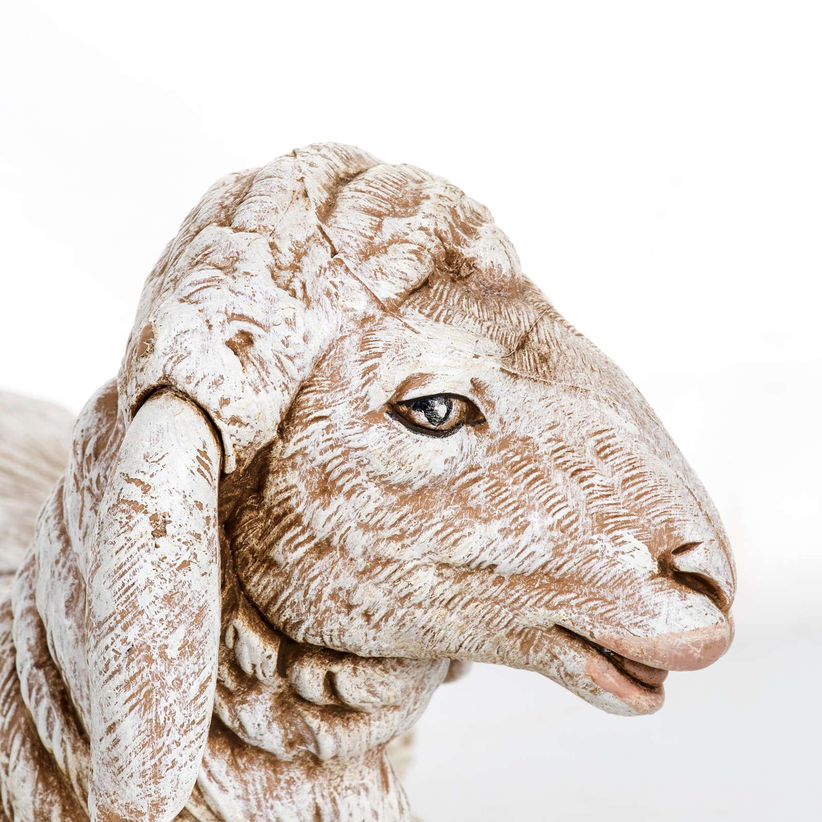 Owca leżąca Fontanini 65 cm żywica 4