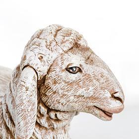 Owca leżąca Fontanini 65 cm żywica s3