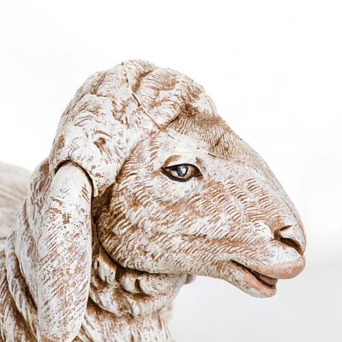 Owca leżąca Fontanini 65 cm żywica 3