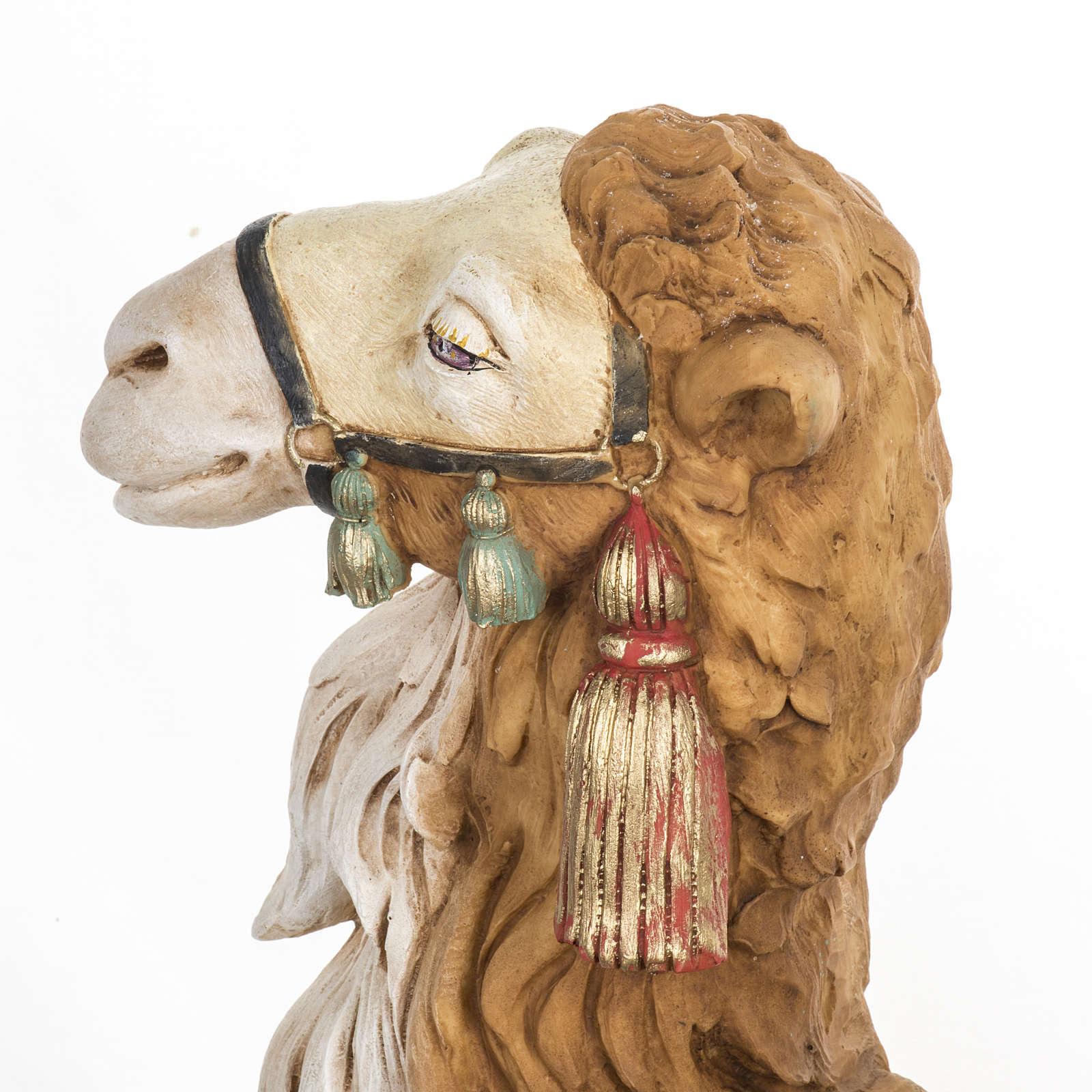 Cammello presepe Fontanini 65 cm resina 3