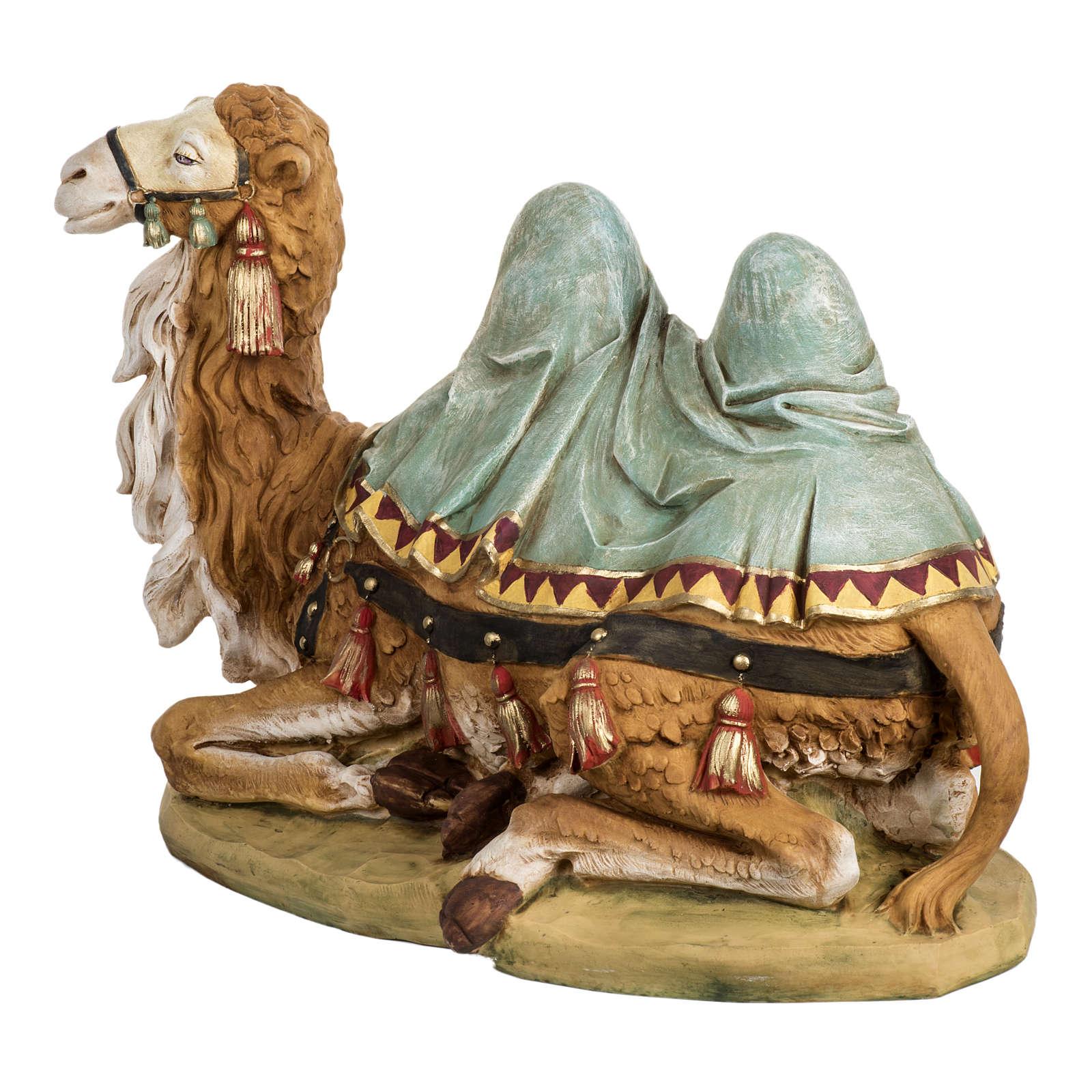 Wielbłąd szopka Fontanini 65 cm żywica 4