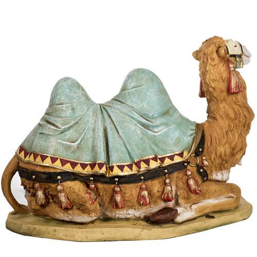 Wielbłąd szopka Fontanini 65 cm żywica 6