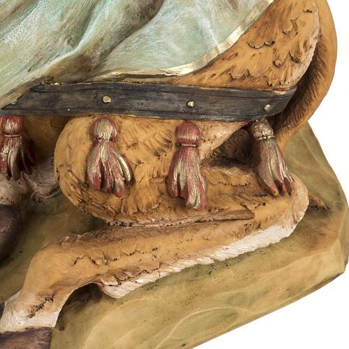 Cammello seduto presepe Fontanini 52 cm 4