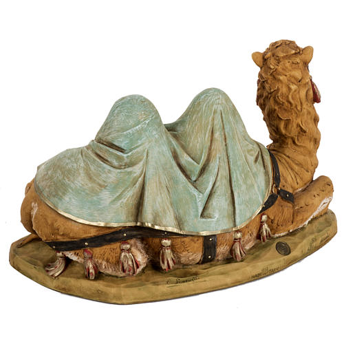 Cammello seduto presepe Fontanini 52 cm 5