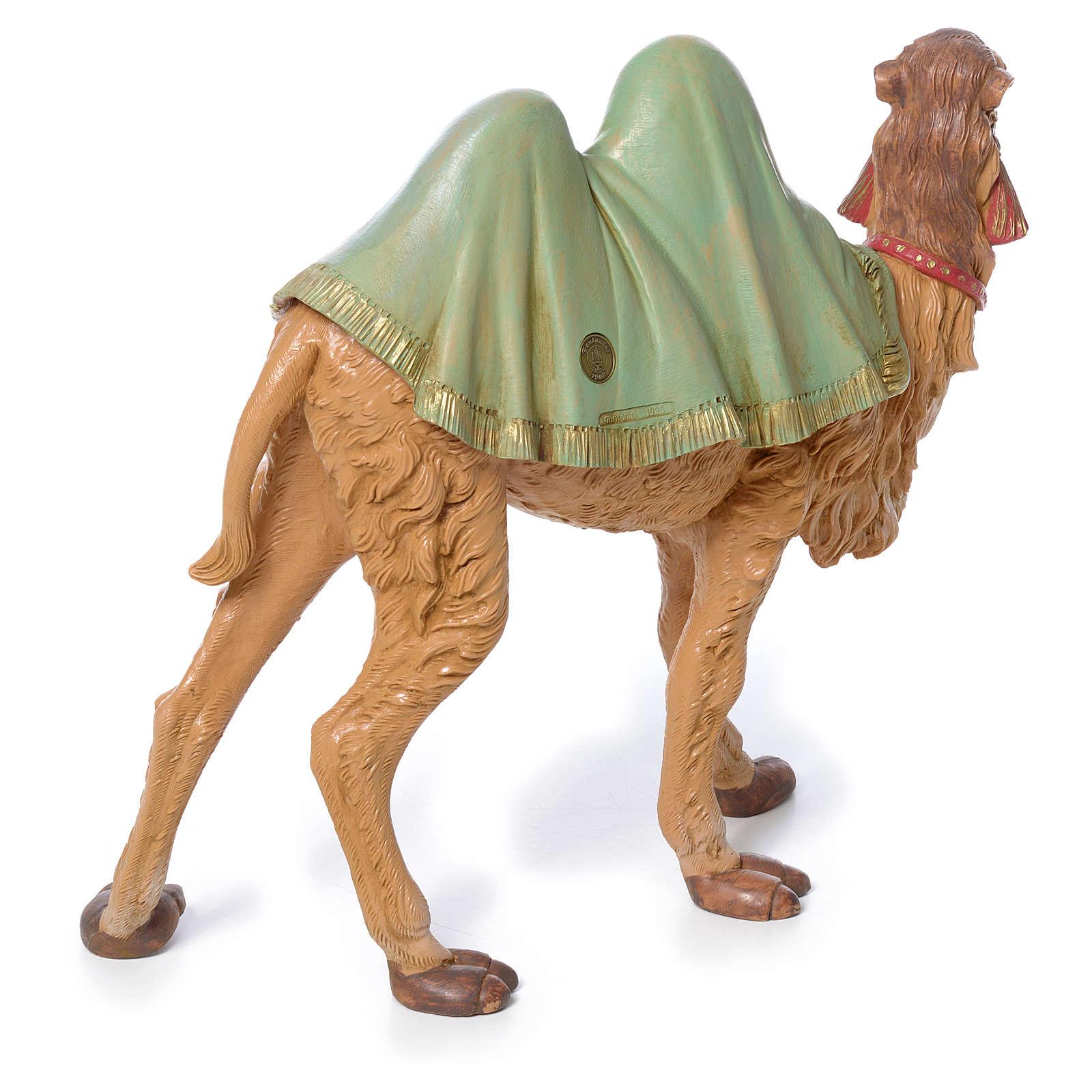 Wielbłąd stojący 30 cm pcv Fontanini 4