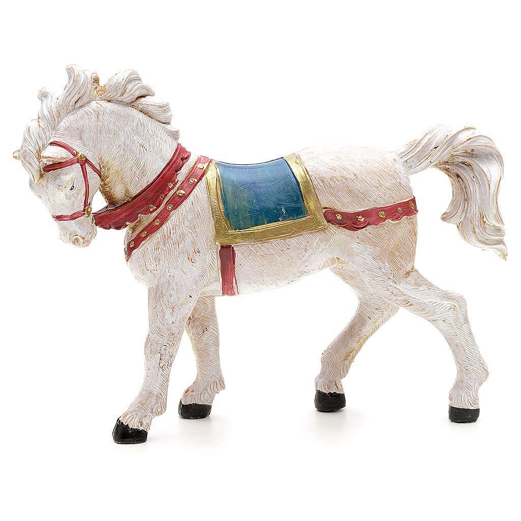 Cavallo bianco 12 cm Fontanini 3