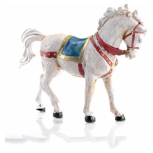 Cavallo bianco 12 cm Fontanini 5