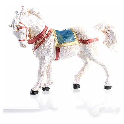 Cavallo bianco 12 cm Fontanini 2