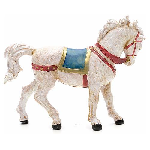 Cavallo bianco 12 cm Fontanini 4