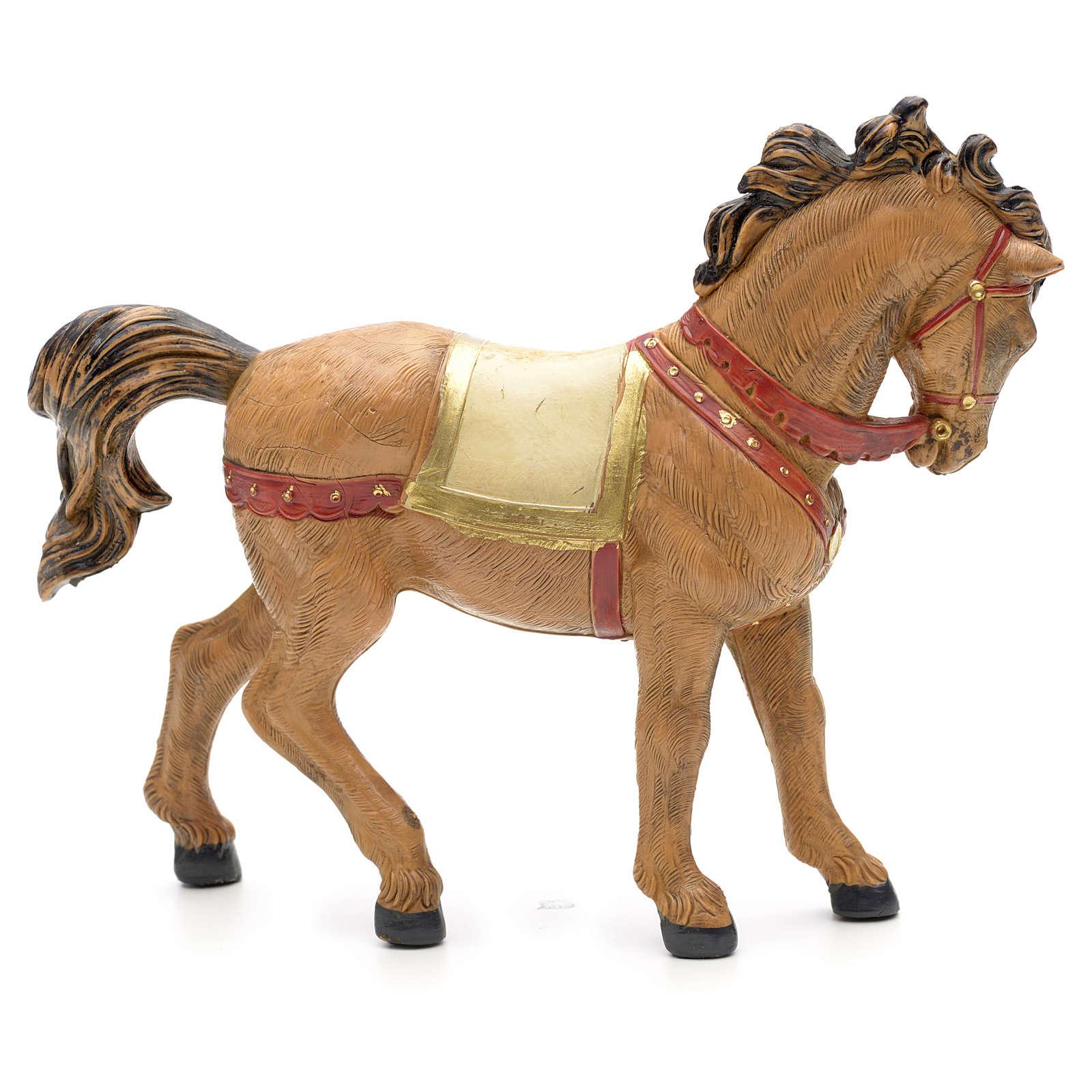 Cavallo criniera nera 12 cm Fontanini 3