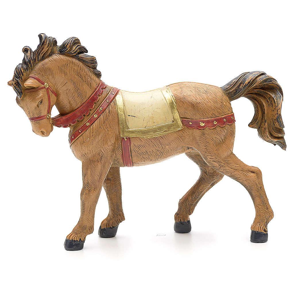 Cavallo criniera nera 12 cm Fontanini 4