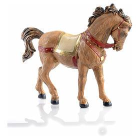 Cavallo criniera nera 12 cm Fontanini s5