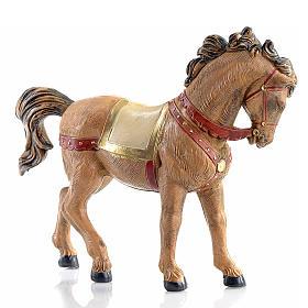 Cavallo criniera nera 12 cm Fontanini s1