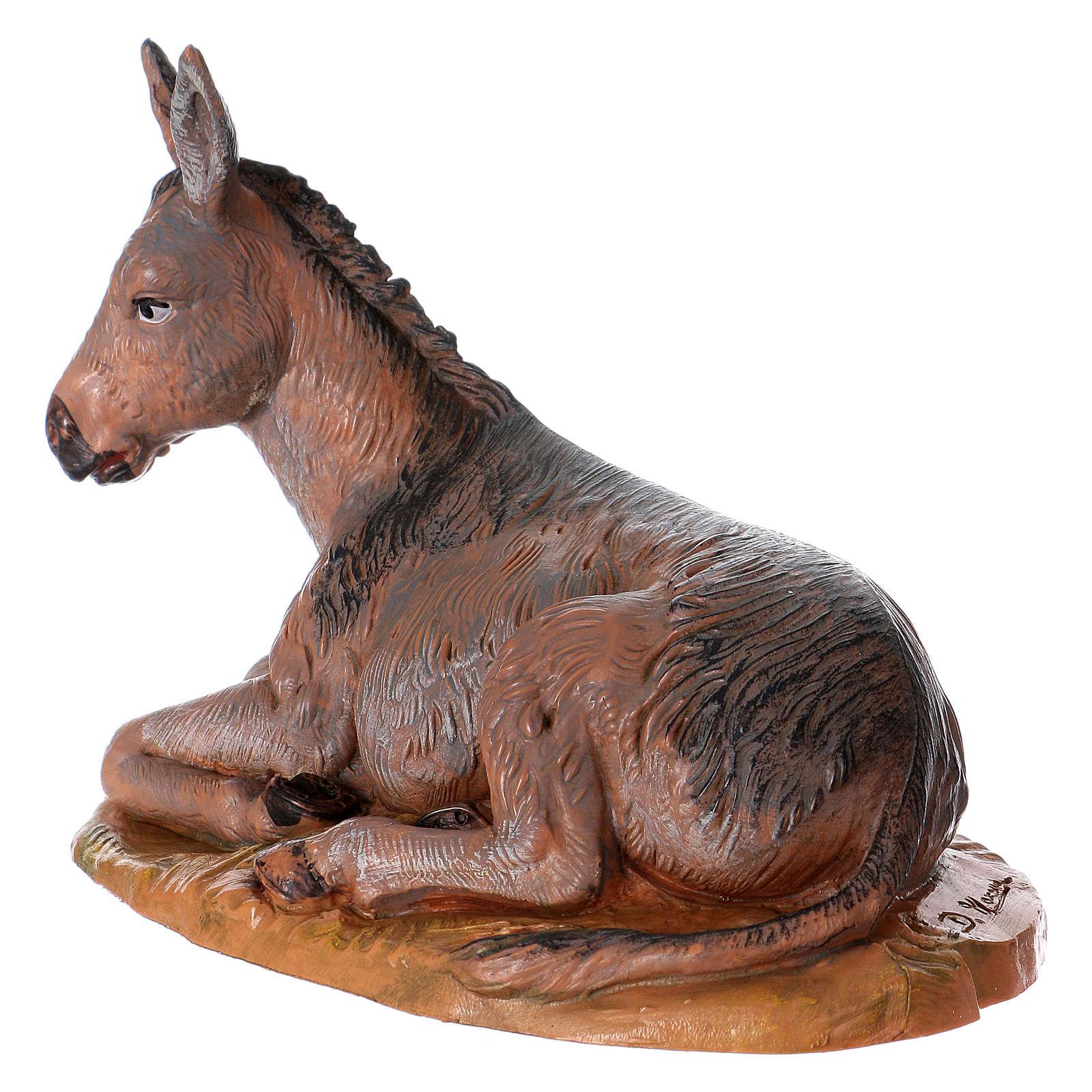 Esel für 19 cm Krippe Fontanini 4