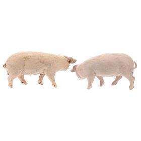 Vara de porcos 4 peças para Presépio Fontanini com figuras de altura média 12 cm s4