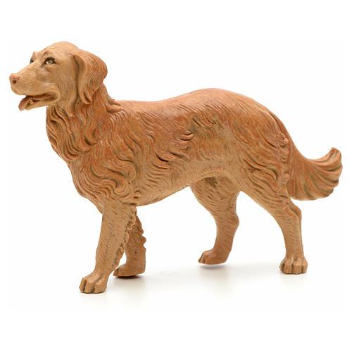 Cão em pé para Presépio Fontanini com figuras de altura média 19 cm 1