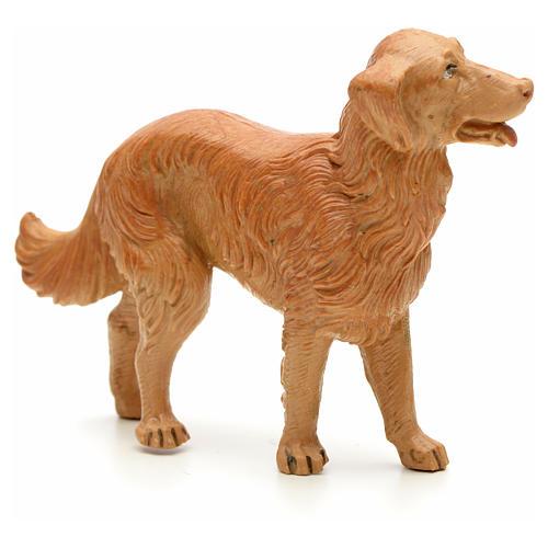 Cão em pé para Presépio Fontanini com figuras de altura média 19 cm 2