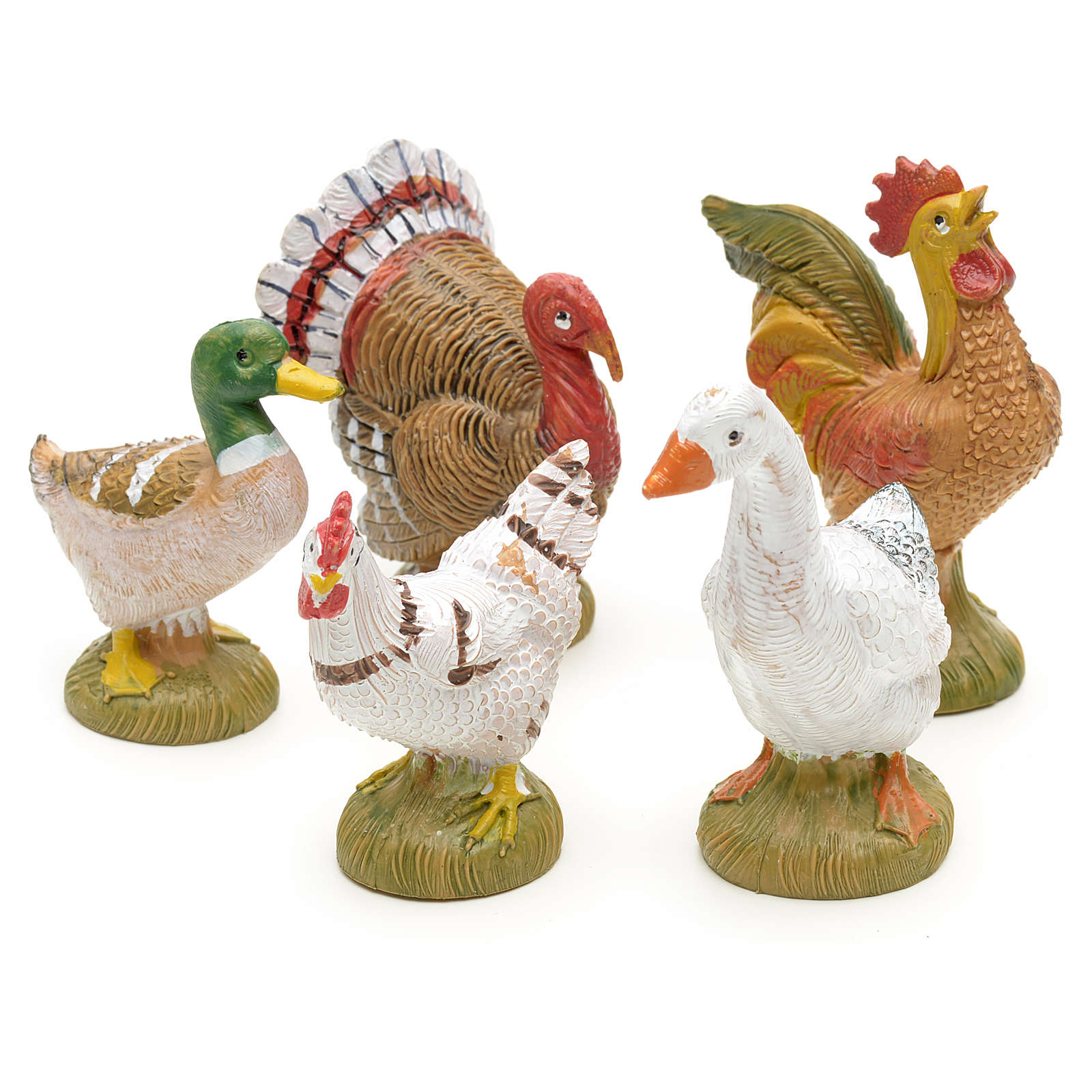 Hühnervögel Fontanini 12 cm 3