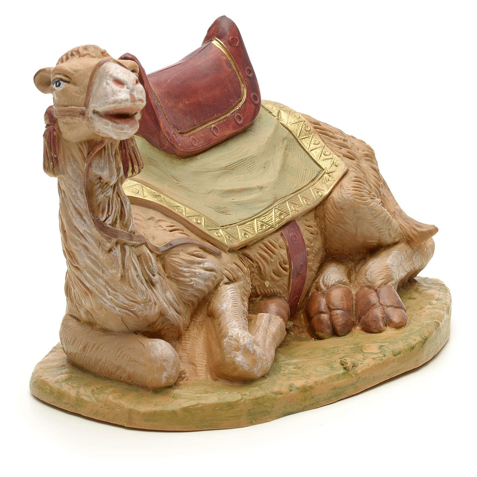Camello sentado para belén Fontanini con figuras de altura media 19 cm 4