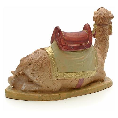 Camello sentado para belén Fontanini con figuras de altura media 19 cm 3
