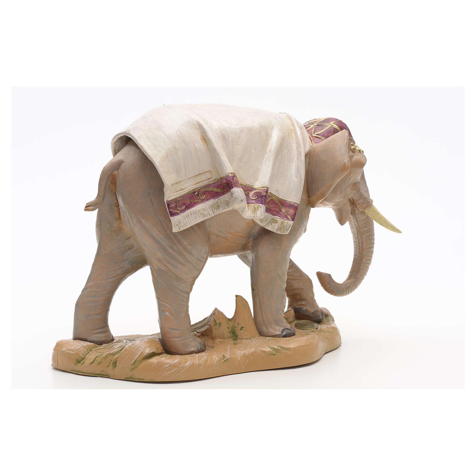 Elefante in piedi cm 19 Fontanini 4