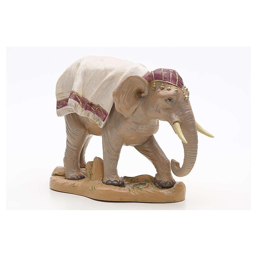 Elefante in piedi cm 19 Fontanini 3