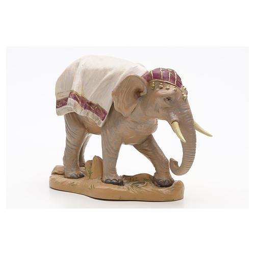 Elefante in piedi cm 19 Fontanini 5