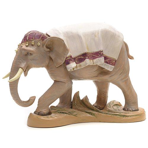 Elefante in piedi cm 19 Fontanini 1