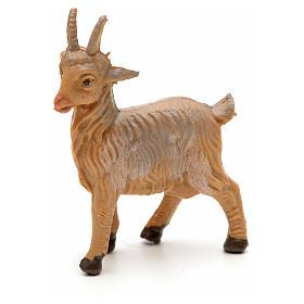 Cabra de pie para Belén Fontanini con figuras de altura media 6,5 cm s1