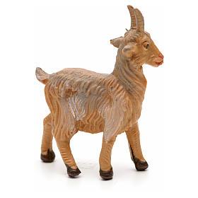 Cabra de pie para Belén Fontanini con figuras de altura media 6,5 cm s2