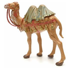 Camello en pie para belén Fontanini con figuras de altura media 19 cm s2
