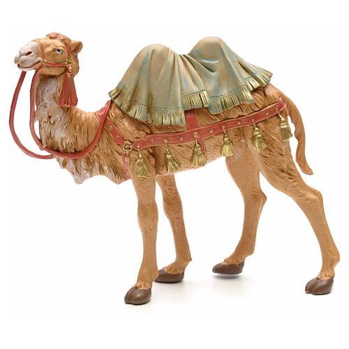 Camello en pie para belén Fontanini con figuras de altura media 19 cm 1