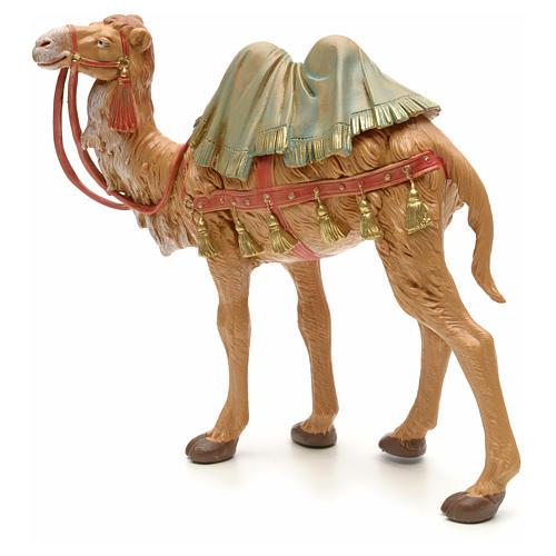 Camello en pie para belén Fontanini con figuras de altura media 19 cm 2