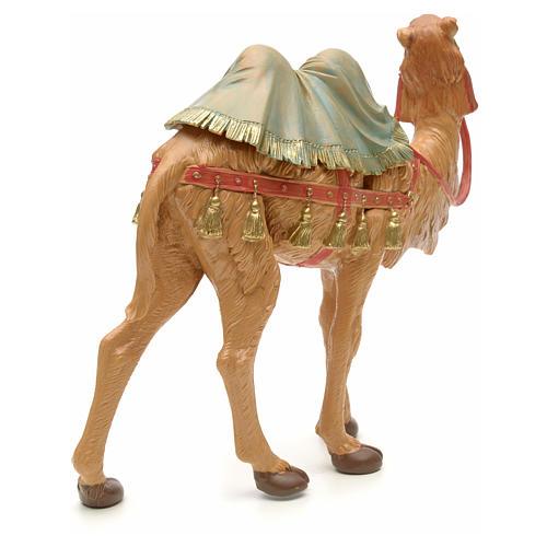 Camello en pie para belén Fontanini con figuras de altura media 19 cm 3